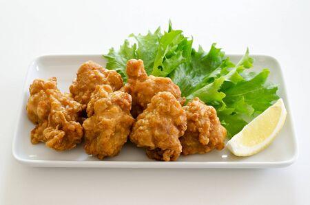 Chicken karaage 版權商用圖片 - 55943311