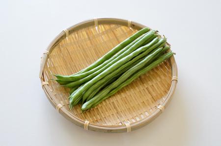 judia verde: Judías verdes  Foto de archivo