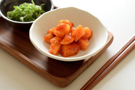 Radish kimchi