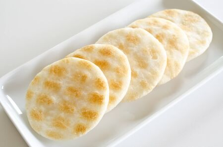 cracker: Rice cracker
