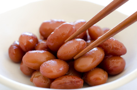 kidney beans: Red kidney beans Stock Photo