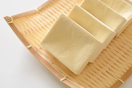 doufu: tofu Stock Photo
