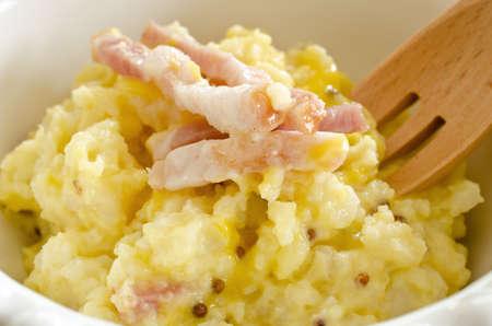 Mustard potato salad Stock Photo