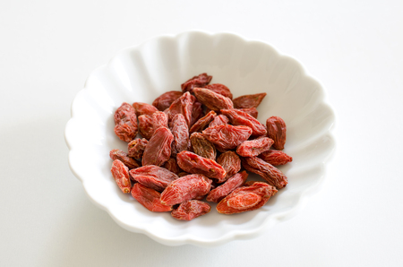 within: Goji berries Stock Photo