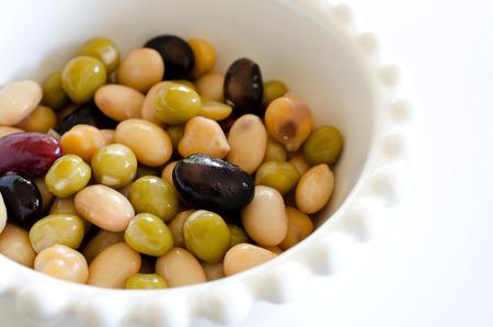 garbanzo bean: Steamed Bean Salad