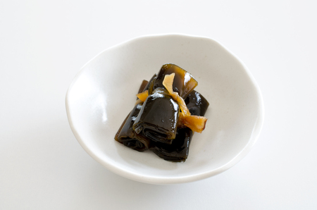 Herring wrapped in seaweed