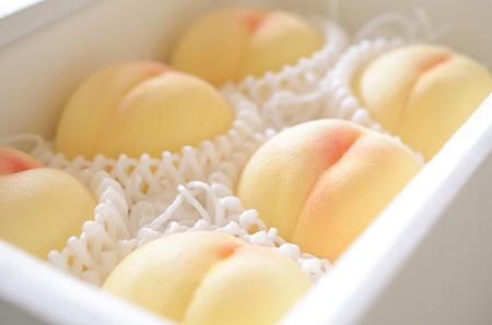 White peach 版權商用圖片
