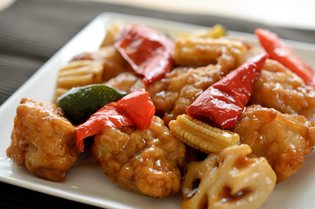 stir up: Chinese chicken and vegetable sauce