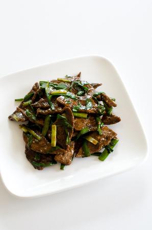 stir fry: Stir fry pork