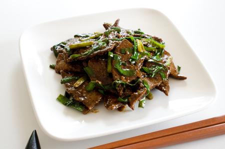 stamina: Stir fry pork