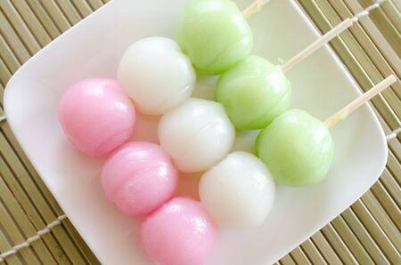 tricolor: Tri-color Meatball Stock Photo