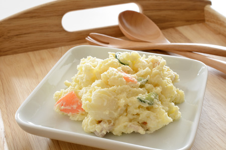 western food: Potato salad