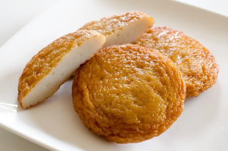 Fried fish cake 版權商用圖片