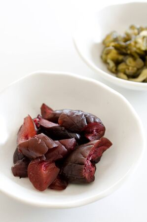 encurtidos: Pickles Shiba Foto de archivo