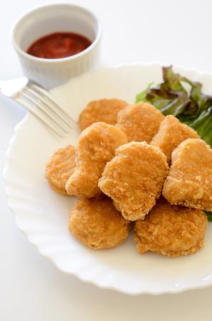 nuggets: Chicken nuggets