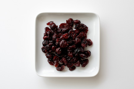 cranberries: Dried cranberries Stock Photo
