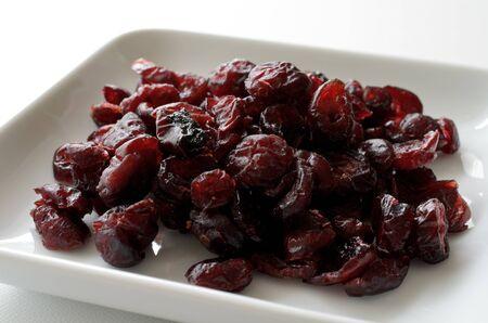 arandanos rojos: Ar�ndanos secos Foto de archivo