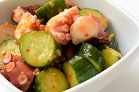 appetising: Octopus and cucumber with hot pepper paste