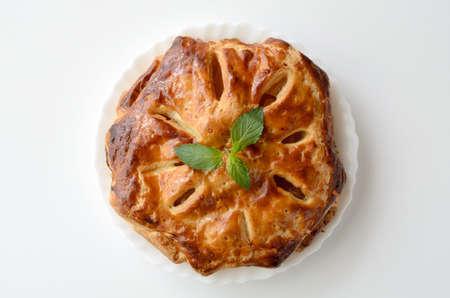 pastel de manzana: Apple Pie  Foto de archivo