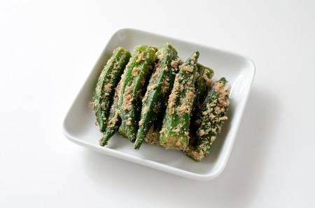 ajonjol�: Okra with Sesame