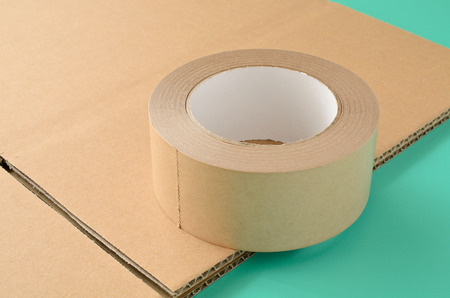 packing tape: Packing tape Stock Photo