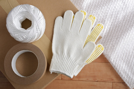 packing tape: Packing materials