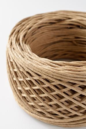 Paper laces Stock Photo