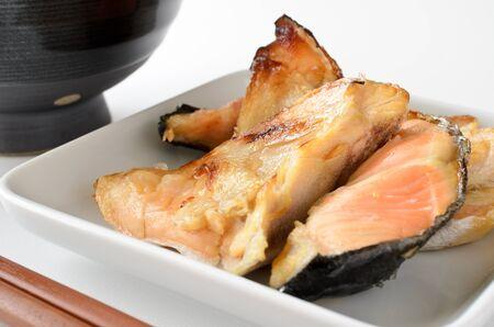 kama: Grilled salmon Kama