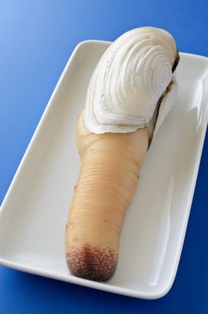 almeja: Blanco almeja gigante