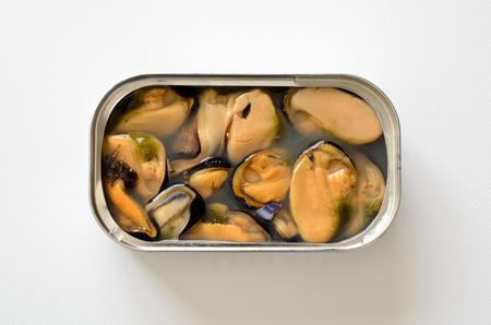 Mussels in brine