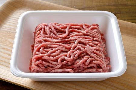 Ground beef and pork 版權商用圖片