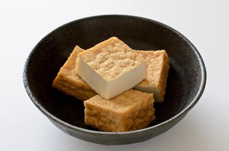 Thick fried tofu