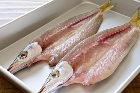 Dried barracuda