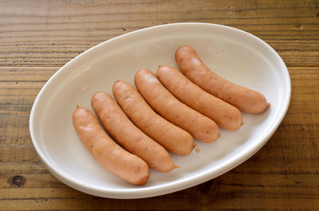 Vienna sausage 版權商用圖片