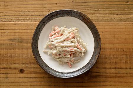 Burdock salad 版權商用圖片