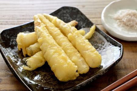 Himetake tempura