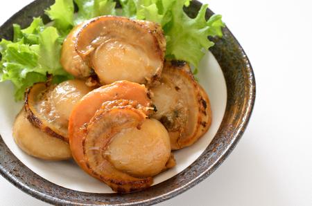 Teriyaki scallops