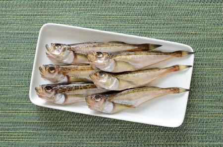 Dried japanese sandfish 写真素材