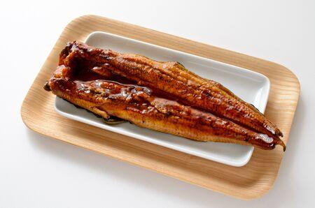 Glaze-grilled eel