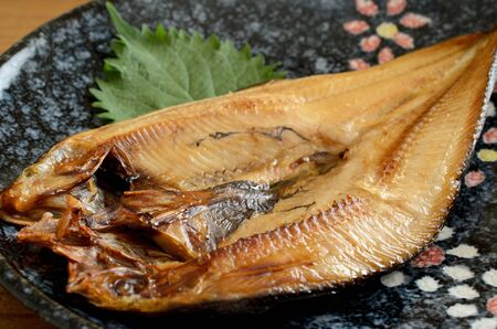 grilled atka mackerel