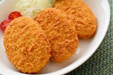mashed potato croquette