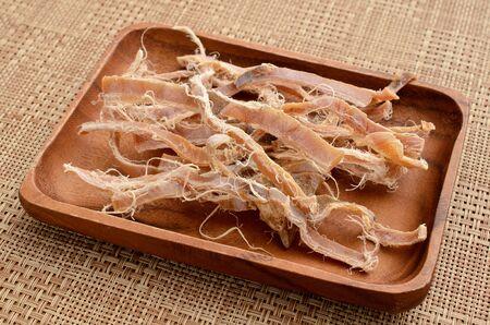 calamar seco Foto de archivo