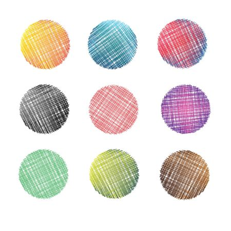 circles: Circles background. Vector object