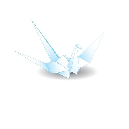 origami bird: Origami bird vector