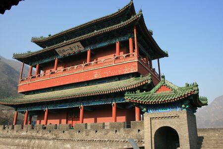 muralla china: Palacio en muralla china
