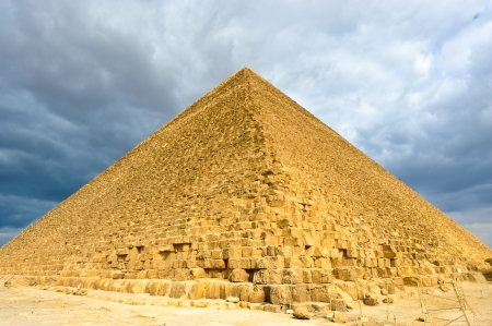 The Great Pyramid of Khufu (Cheops) - Giza, Egypt Stock Photo - 9230184