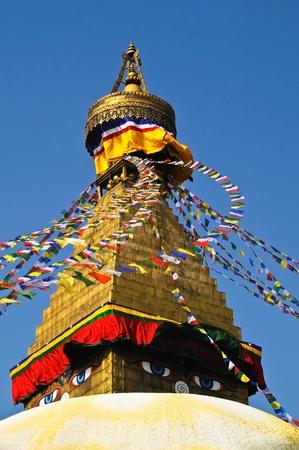 Bodhnath temple  in kathmandu Nepal Stock Photo - 9477992