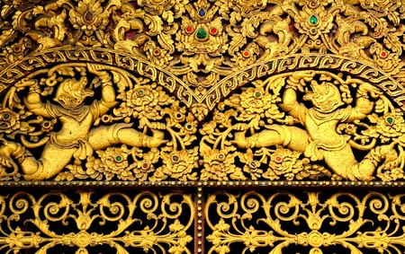 traditional Thai art details