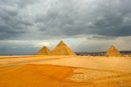 the great pyramid of Khufu (Cheops) - Giza, Egypt photo