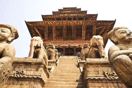 temple, Nepal